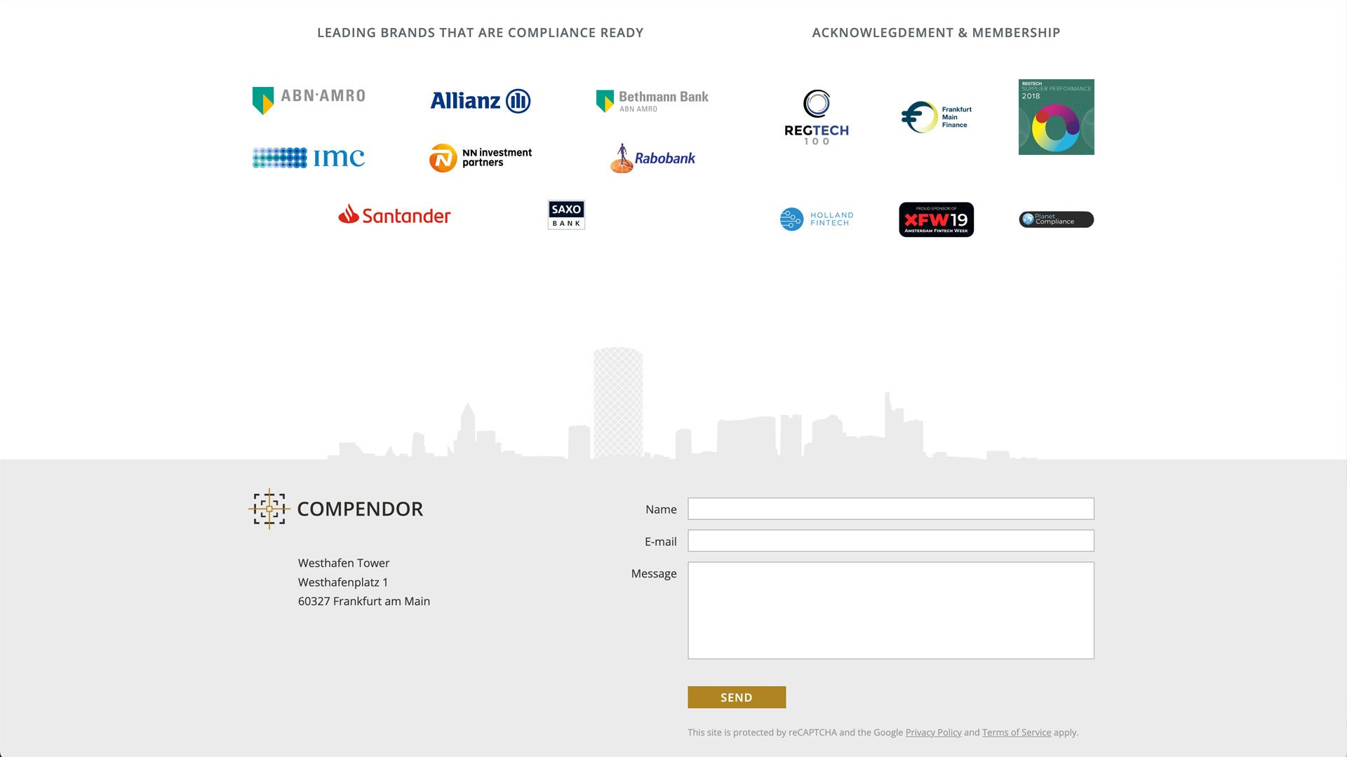 Website voor Compendor / 4