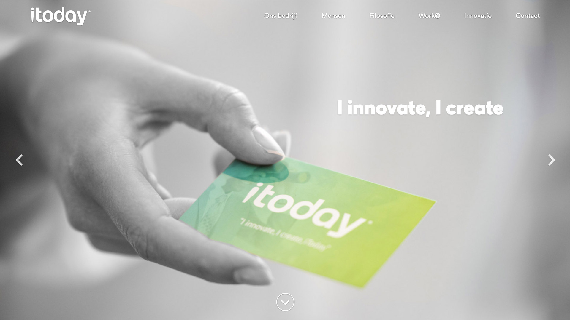 Website development for iToday / 1