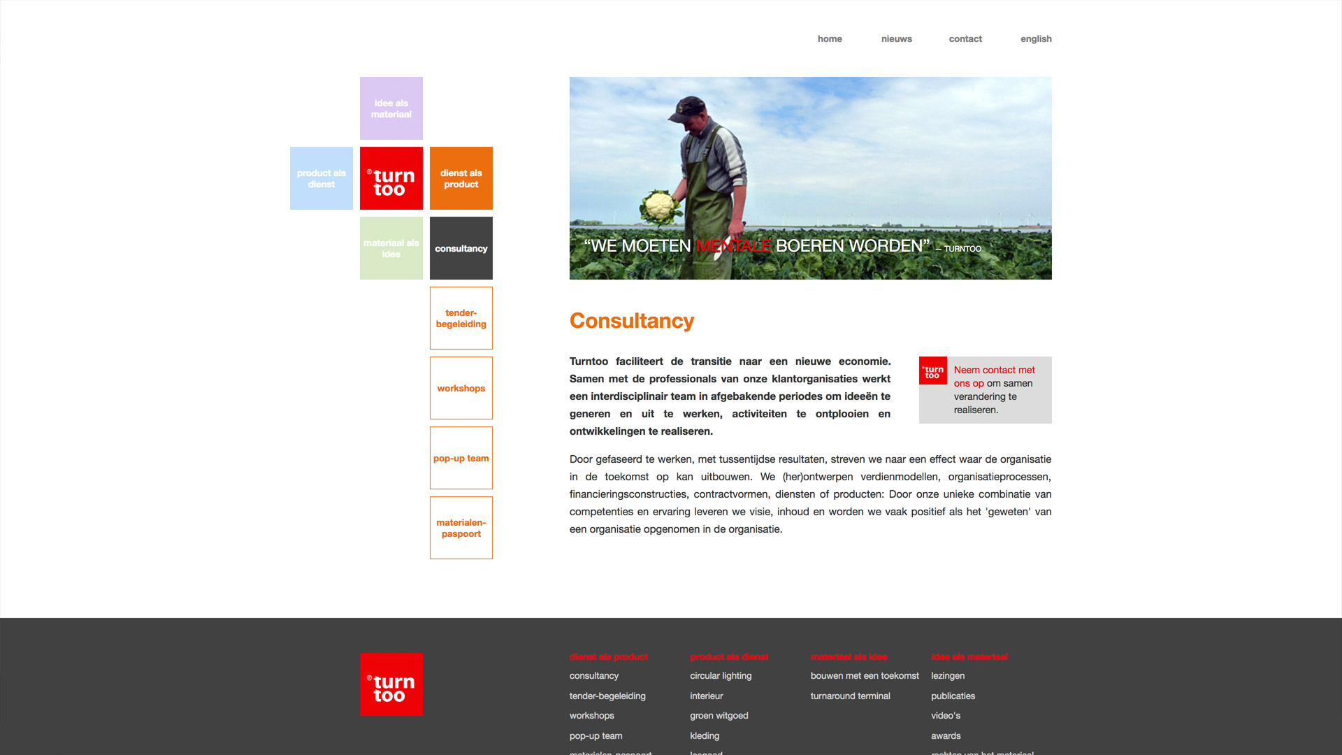 Website for Turntoo / 2