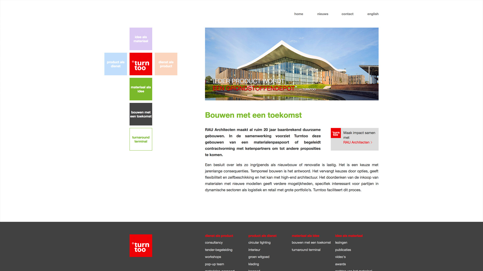Website voor Turntoo / 4